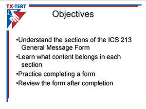 How to Fill Out an ICS 213 – NJTI-Tert
